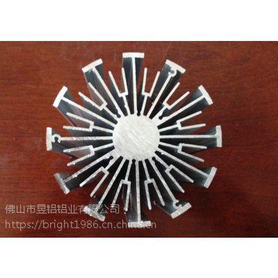 铝合金散热品 来图加工生产