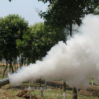 汽油脉冲式弥雾机 圣鲁蔬菜大棚烟雾机
