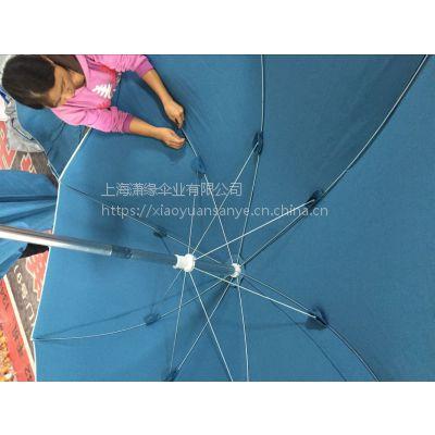 加工定制铝管沙滩伞、 高档沙滩伞制作生产厂、 棉布帆布沙滩遮阳伞定制工厂