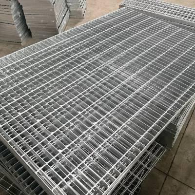 热镀锌钢格板厂家供应化工厂格栅板 地沟盖板网片