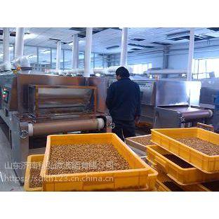 济南大型隧道式微波黄粉虫烘干机