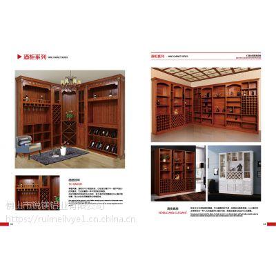 锐镁型材批发 全铝家居定制 古典中式全铝酒柜