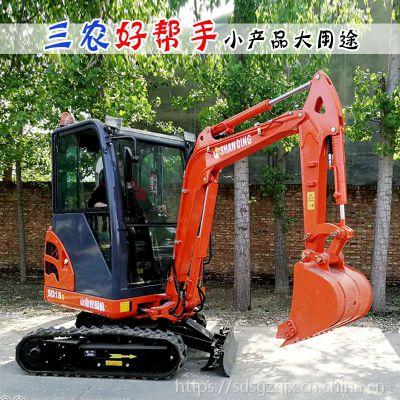 带封闭驾驶室的小型挖掘机多少钱 18型号的挖机