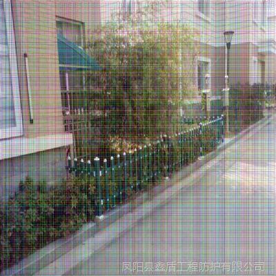江西赣州寻乌优质小区塑钢护栏生产商 pvc栏杆扶手安装视频 pvc草坪护栏多少钱一平方
