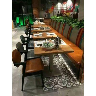 深圳茶餐厅桌椅的定制厂家