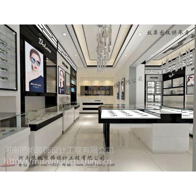 百色眼镜店装修公司 百色眼镜店展柜设计制作 百色眼镜柜台生产厂家
