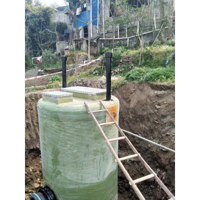 玻璃钢一体化污水泵站 沃利克环保设备 污水泵站处理