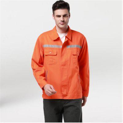 市北区工作服加工|高品质职业工作服|反光衣可印字