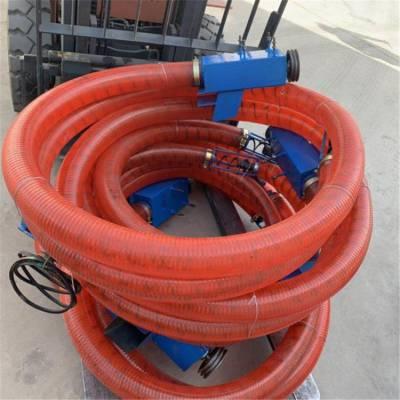 电机带动螺旋吸粮机 润丰 车载随车用抽粮机