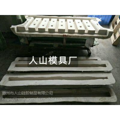 现货批量出售仿木纹河道栏杆硅胶模具 真实木纹水泥混泥土立柱横栏模具