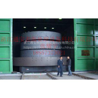 浙江通宝专业生产TBQ3015 大型台车式抛丸机