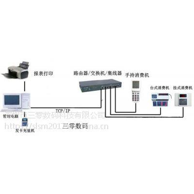 网络版食堂IC消费机三零智能SL-3000刷卡机