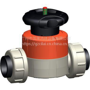一级代理 +GF+ 手动隔膜阀 PPH 广州茨莱专业维护销售