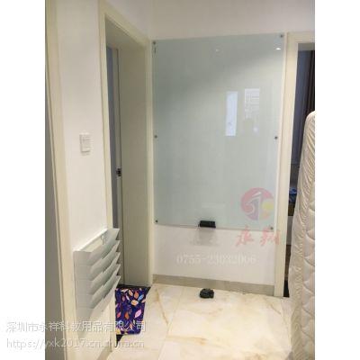 佛山进口移动玻璃白板U辽阳挂式玻璃白板U玻璃白板90*120cm