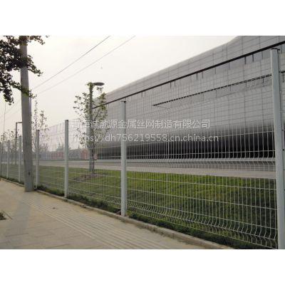供应青海桃形柱护栏/西宁浸塑护栏网厂/大量现货质量有保障
