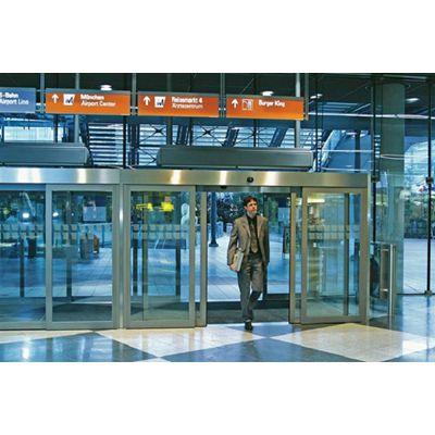 越秀区维修感应门,玻璃自动伸缩门为什么不灵18027235186