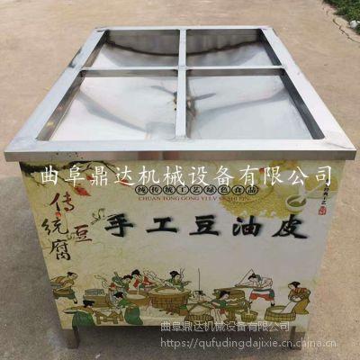 制作腐竹的机器 腐竹油皮机成套设备 上门服务包教技术