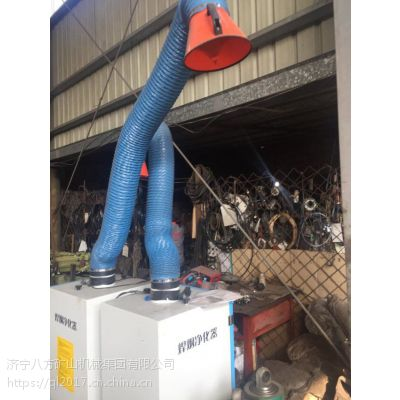 移动式 焊烟净化器 工业焊接烟尘净化器批发 环评 必备神器 移动式焊烟除尘器 厂家