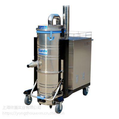 车间工厂三相工业吸尘器,凯德威大功率工业吸尘器DL-7510B