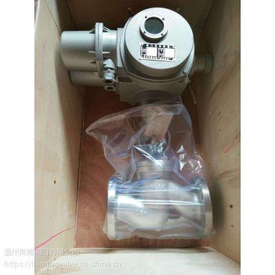 供应良博J941W\H不锈钢电动截止阀、WCB电动法兰截止阀