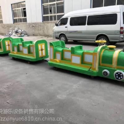 河南景区观光游览无轨道电瓶小火车心悦游乐定制