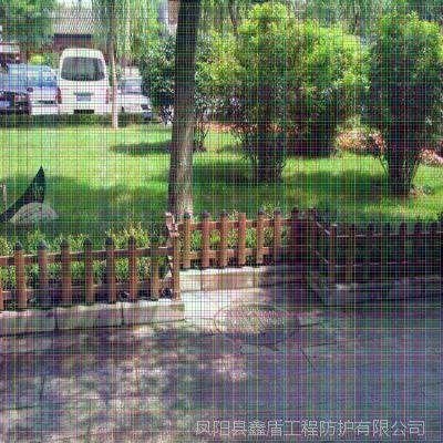 贵州毕节大方塑钢护栏生产商 昆明绿化带护栏 pvc护栏图片