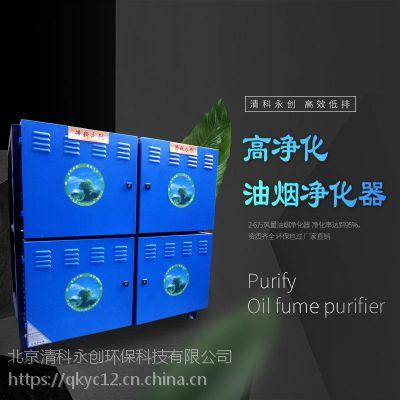 餐饮油烟净化器、高效低排油烟净化器、油烟净化器厂家批发