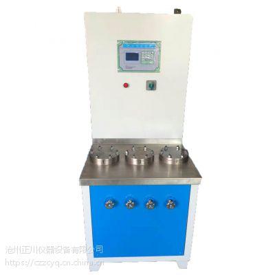 沧州正川遇水膨胀止水胶抗水压试验机