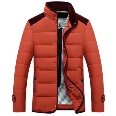 正品清仓大甩卖男士羽绒服男中长款 修身 夹克型大衣外套 羽绒服