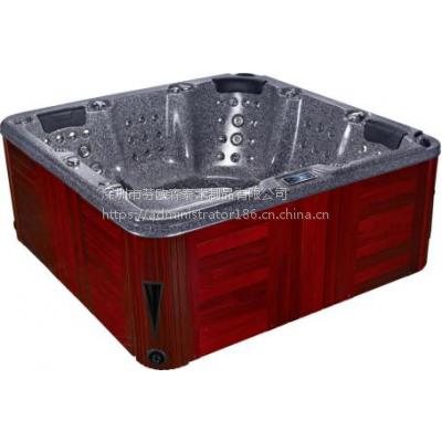 2018***新款亚克力按摩浴缸 spa大池 冲浪浴缸