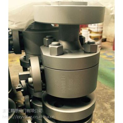 Q47F-1500LB美标高压不锈钢法兰锻钢球阀