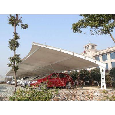 室外膜结构停车棚张拉膜遮阳棚雨棚公交站台候车亭膜结构