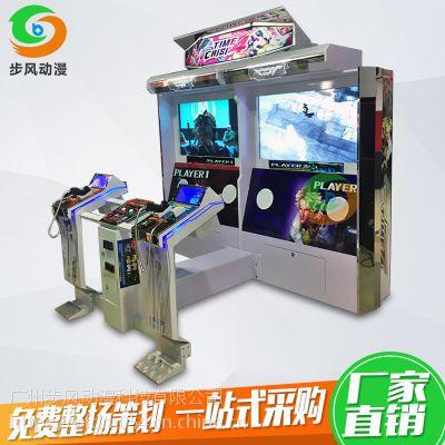 步风电玩城大型游戏机 化解危机4代成人模拟机