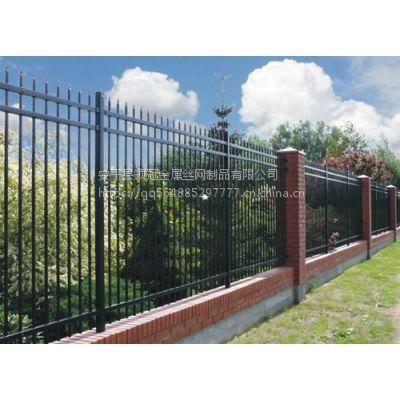 上海普陀区锌钢护栏价格&普陀小区厂区锌钢围墙围栏多少钱一平米