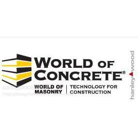 2019年美国拉斯维加斯混凝土暨国际建筑机械展World of concrete