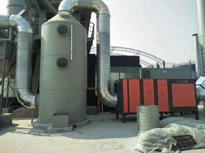 首信环保定制河南废气处理设备喷淋塔 酸雾净化塔的生产厂家