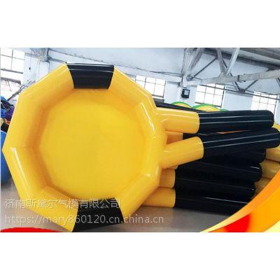 厂家直销充气十拿九稳 充气网球拍 户外拓展训练器材 竞赛道具