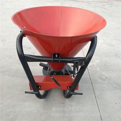 达丰机械 各种型号单盘撒肥机 颗粒肥土家肥撒粪机 撒播机 撒肥料机器