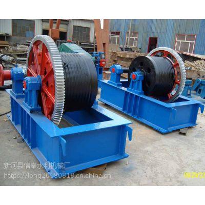 螺杆启闭机 钢闸门 铸铁闸门 圆型拍门---新河县信泰水利机械厂