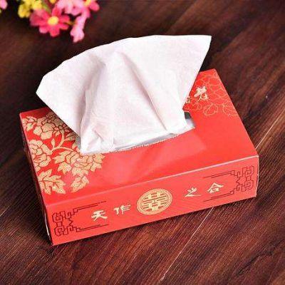 襄阳创意纸抽盒定制 广告宣传纸质纸巾盒 白卡纸抽纸盒设计制作