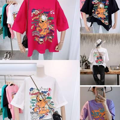 哪里批发尾货库存衣服既便宜而且质量又好呢广州厂家便宜男女装T恤清仓3元