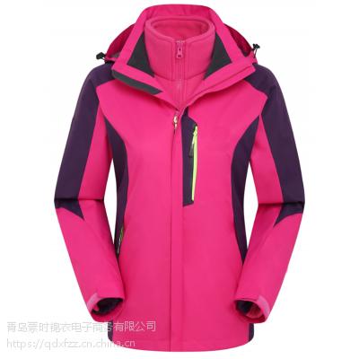 滨州冲锋衣厂家 户外运动登山装备 防刮耐磨 素时锦衣