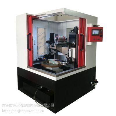 新上市缅甸玉砂线切割数控机床德承精密DC-6060玉石微切机设备