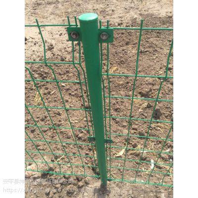 绿色双边丝护栏网厂家批发