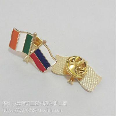 金属徽章订做工厂哈尔滨牡丹江专业胸针设计制作