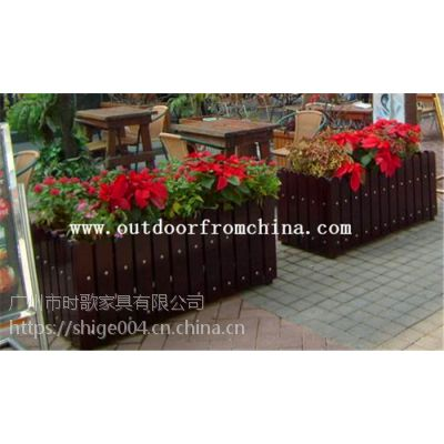 供应主题咖啡馆景观吊篮 植物种植箱