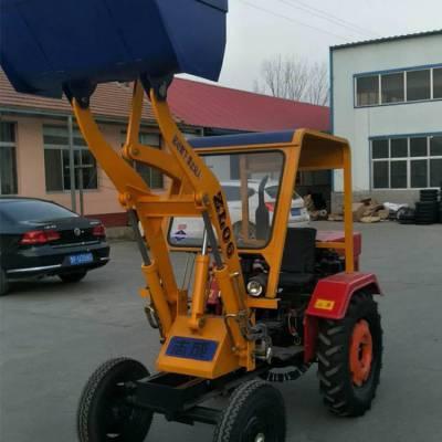 厂家直销小型轮式装载机 工地专用小铲车 柴油工程推土机