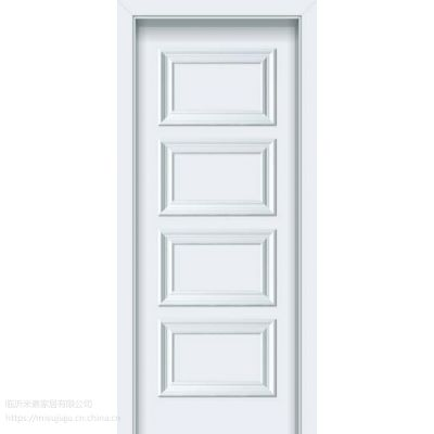山东临沂中创E家实木门厂家直销 欧式白色实木套装门
