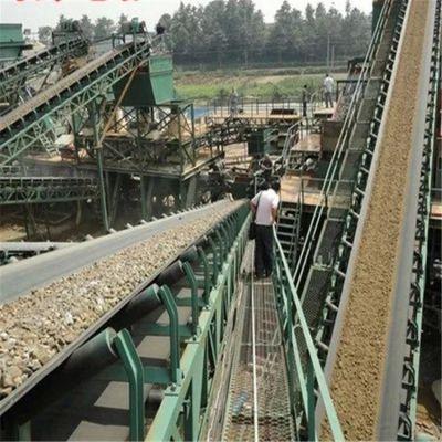 港口柴油皮带输送机 兴亚固定式皮带输送机生产