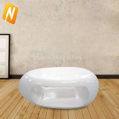 南部玻璃钢nbzy001玻璃钢镂空茶几